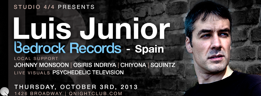 Luis Junior - Bedrock Records, mooseekaa